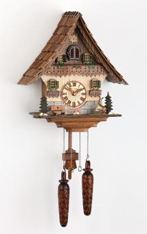 Quarzuhr Schwarzwaldhaus 35 cm