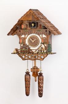 Quarzuhr Schwarzwaldhaus 34 cm