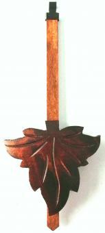 Pendel 8-Tag für Kuckucksuhren Ahornblatt