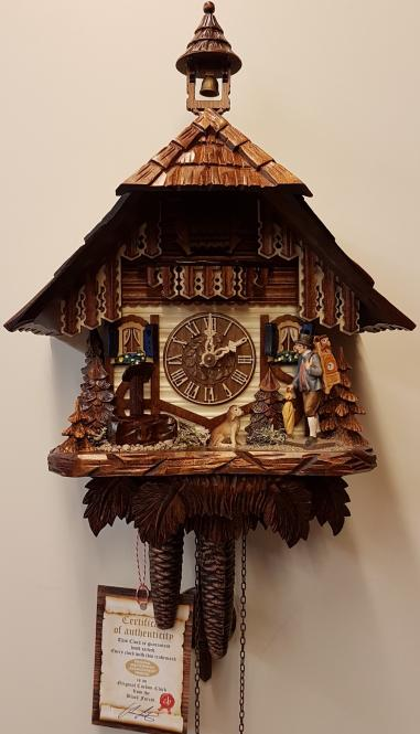 Schwarzwaldhaus 1Tag Uhrenträger