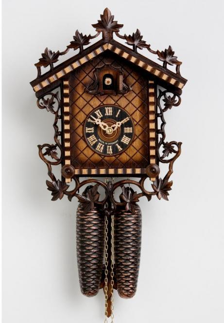 Bahnhäusle Uhr 33 cm